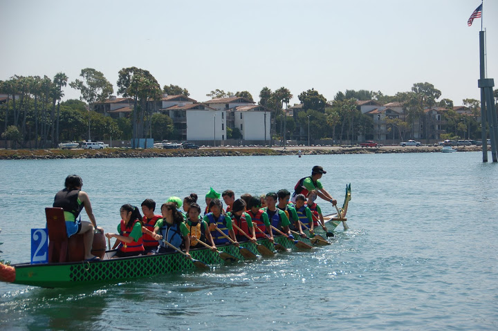 Dragon Boat programs at BIAC