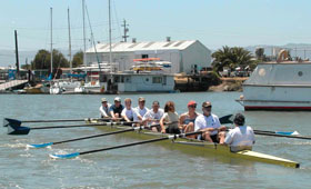 Sweep Rowing at BIAC